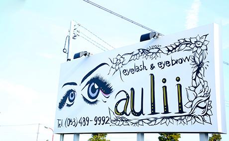 eyelash & eyebrow aulii